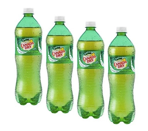 Canada Dry Ginger Ale (4-pack 0.6 L)