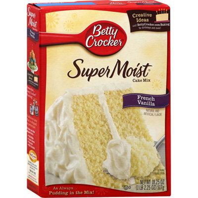 BC French Vanilla Mix Cake