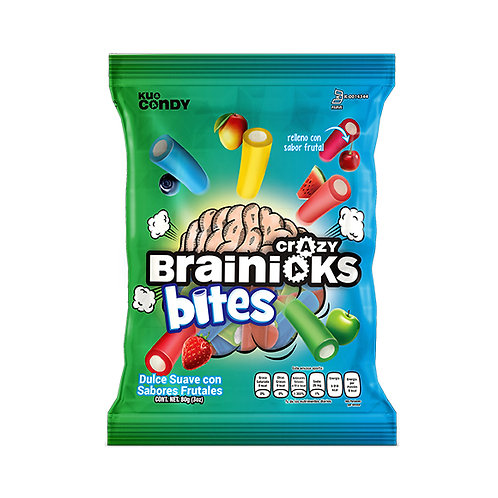 Crazy Brainiacks Bites