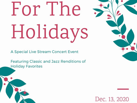 Live from The Conservatory: Home for the Holidays