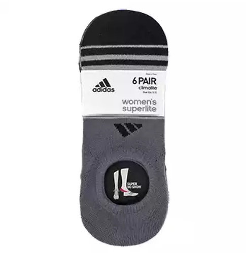Adidas, Socks No Show Women´s Superlite , 6 Pares