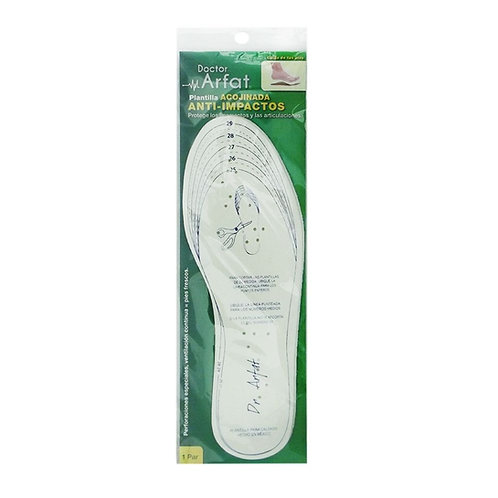 Dr. Arfat Plantilla anti impacto (1 pair)
