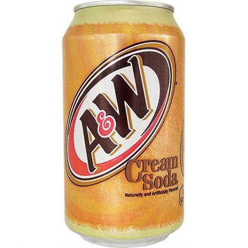 A&W Cream Soda 6-Pack