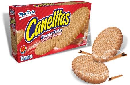 Canelitas Cinnamon Cookies