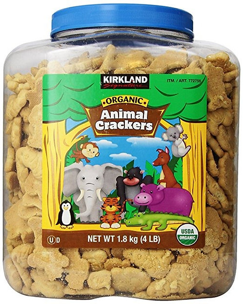 Kirkland Organicas Galletas de Animalitos (1,800 kg)