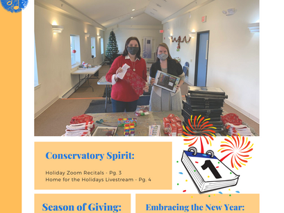 The Conservatory Newsletter: Issue Five