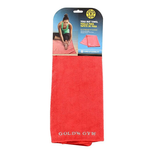 Golds GYM Yoga Mat Towel Core and Flexibility