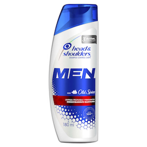 Head and Shoulders Men with Old Spice