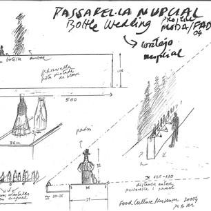 2004 | PASARELA NUPCIAL - MODAFOOD - Barcelona