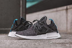 Adidas NMD XR1 PK OG Originals Core Black Blue Rd BY1909 Size