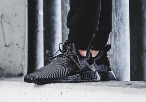 Adidas NMD XR1 (Triple Black)   sneakero