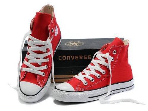 Converse High Cut (Red)   sneakero