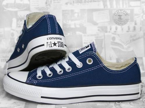 e7e737b800cb71 low price navy blue low cut converse 2b3a0 b962c