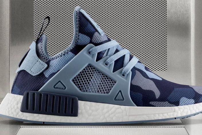 Adidas NMD XR1 (Blue Camo) | sneakero