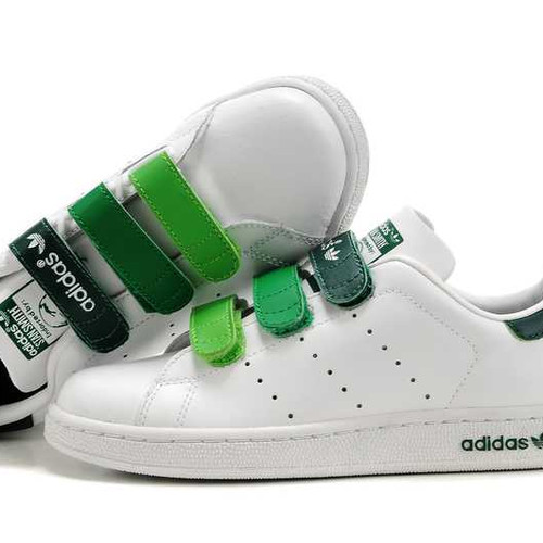 san francisco bd242 ab03c shopping adidas stan smith velcro green f297d 2dfa7