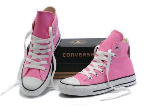5daa5161e3bb Converse High Cut (Pink)