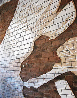 Nike Brick Shoe (close-up)