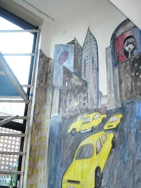 New York Scene in Rotterdam