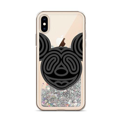 Liquid Glitter Mickey Phone Case
