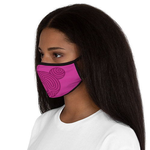 Fitted Koala Polyester Face Mask