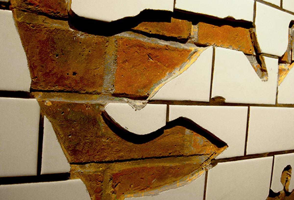 Bill Bowerman's Mouth in Brick