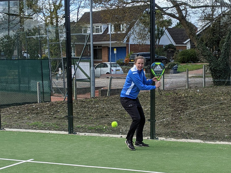 It's time to play Padel at Windsor Penarth LTC!