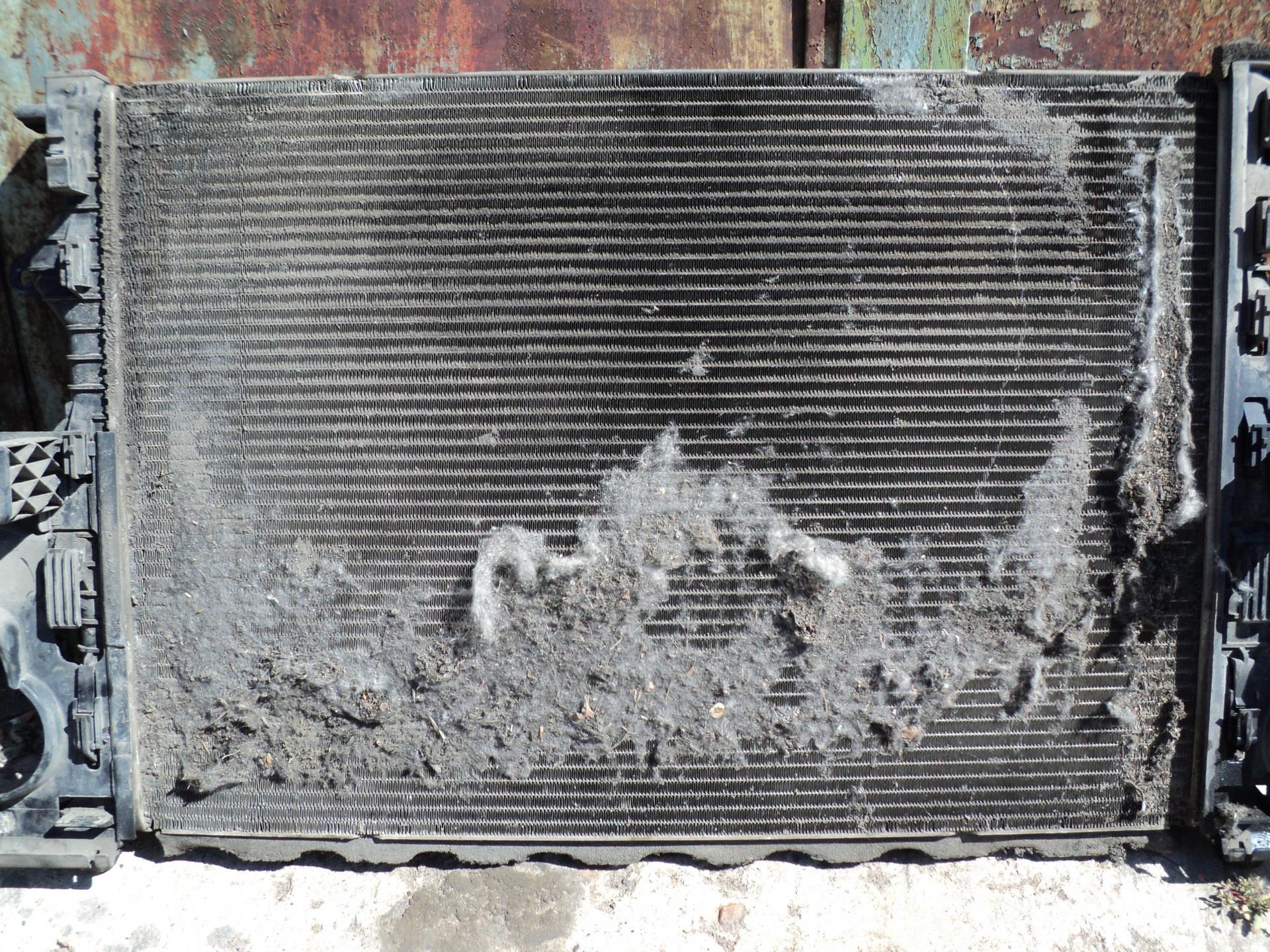 Промывка радиаторов автомобиля