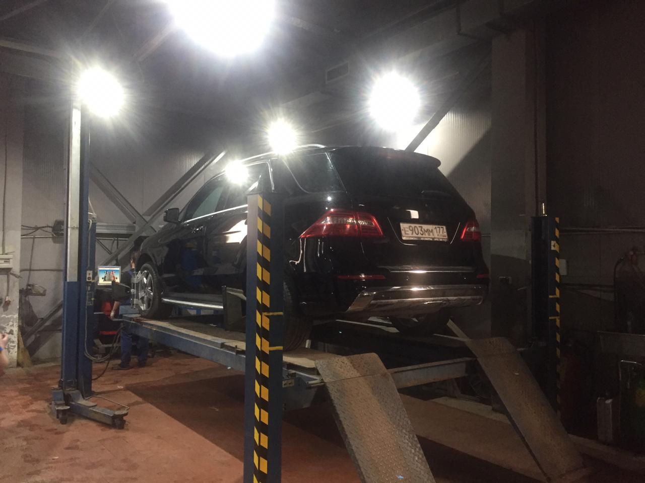 3D Схождение-развал колёс авто