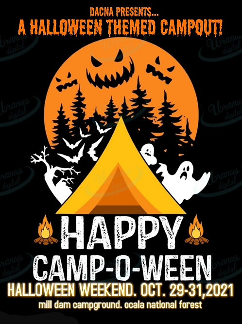 Fall Campout - October 29-31, 2021