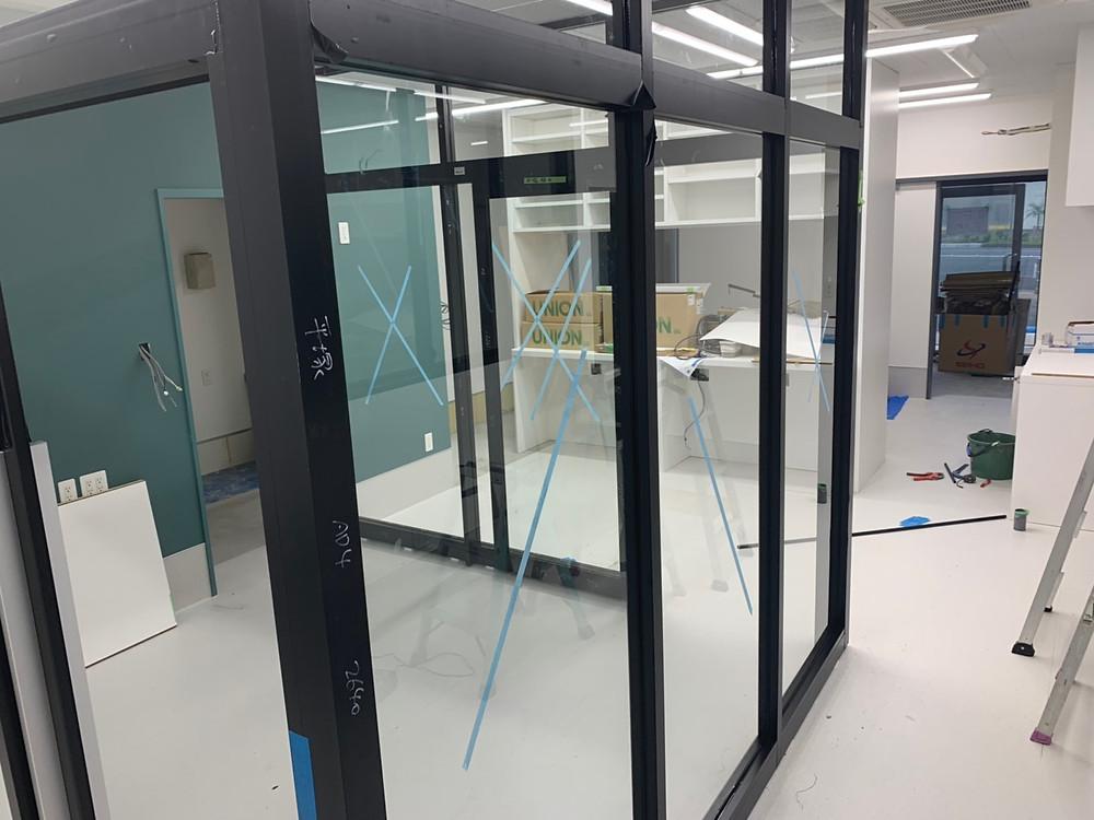 アリアスペットクリニック 内装工事 手術室