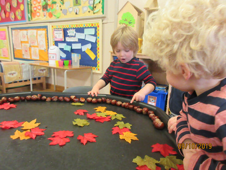 Conkers, counting & creativity!