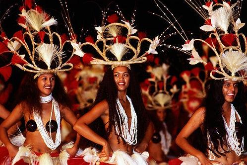 Heiva Festival, Papeete, Tahiti - Poster