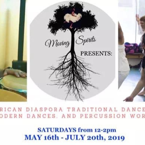 African Diaspora Music & Dance Workshops