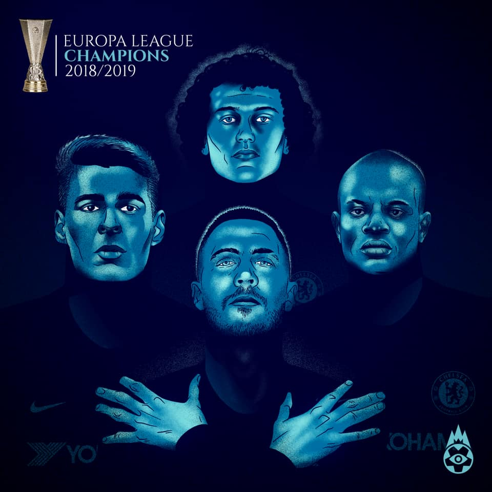 CHELSEA CHAMPION 2018/2019