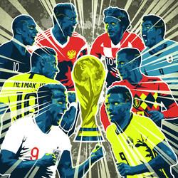 Worldcup 2018 quarter finals