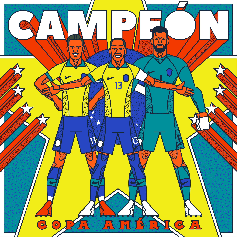 Brasil Campeón Copa América