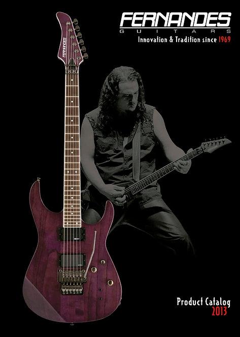 Fernandes Guitars 2013 Product Catalog (pdf file)
