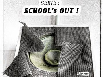 """MIJN """" SCHOOL'S OUT ! """"  BEELDEN TE ZIEN OP DE REUNIE VAN SSG IN HET PATRONAAT !"""
