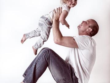 Dennis met zijn dochtertje Zoey
