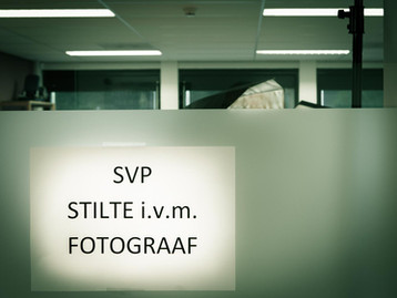 Hogeschool Leiden Cluster Zorg portretserie is in volle gang !