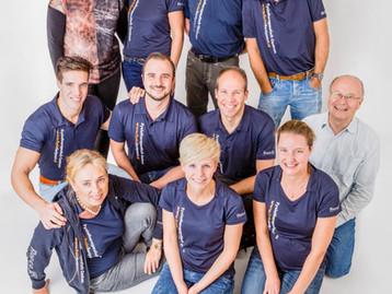 Teamfoto Fysio Santpoort Noord
