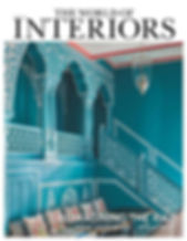 The world of Interiors - magazine feature