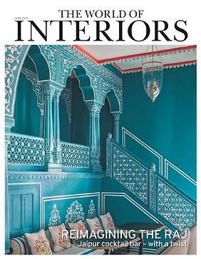 The world of Interiors - magazine feature