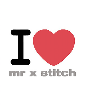 I heart Mr X Stitch - blog article