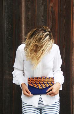 Boscarne Embroidered Bag