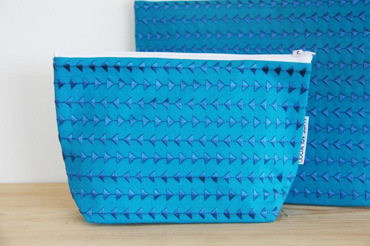 Mawnan embroidered bag