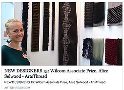 Arts Thread - New Designer Award Article