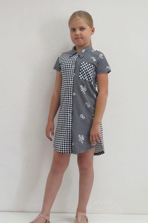 555. платье для девочки 555/001н