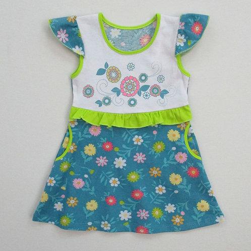 328п. платье для девочки 328П/001н