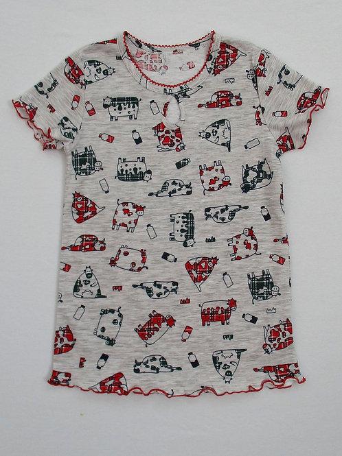 074. сорочка для дев. ночная 074/001н